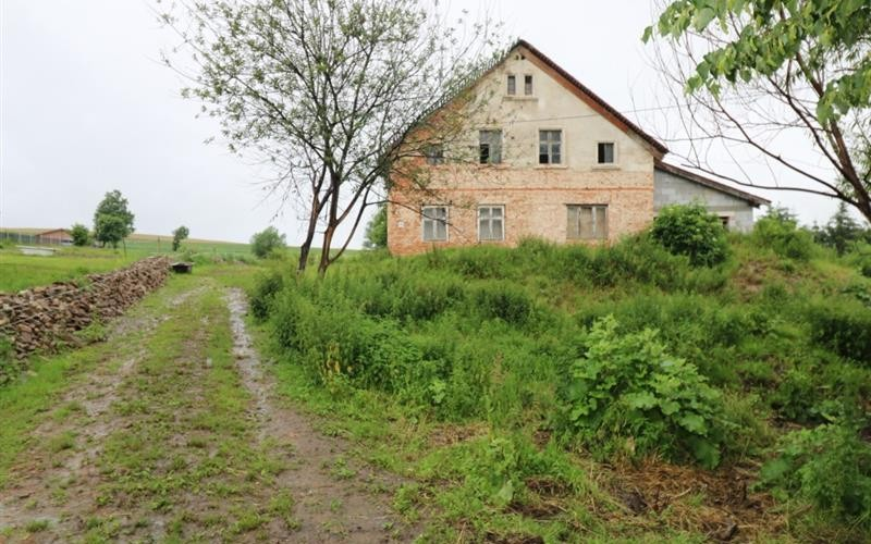 Zabudowana działka gruntu. Działki i grunty. Owiesno 114, 58-262, Owiesno, (woj. dolnośląskie)
