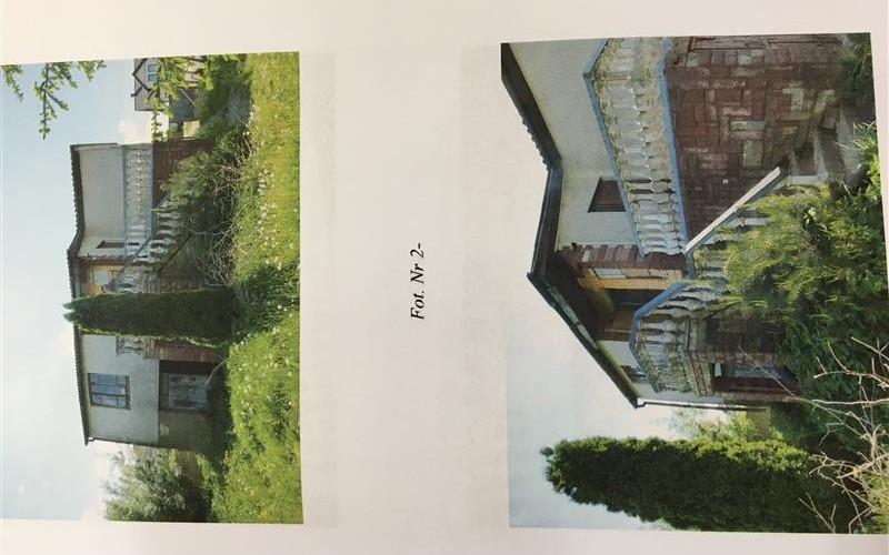 Nieruchomość zabudowana czteroizbowym domem mieszkalnym. Domy. Wiącka 52a, 26-010, Wiącka, (woj. świętokrzyskie)